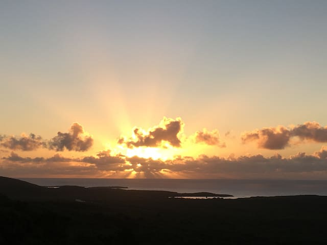 Sunrise and Sunset Views - Vieques - Casa