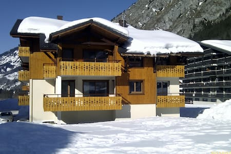 2 Bed Ski Apartment in La Chappelle d'Abondance - Wohnung