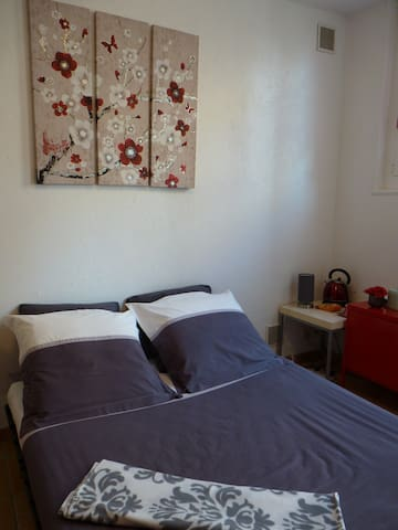 Chambre au calme tout confort à 300m plage