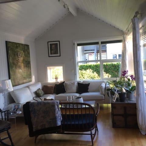 Vakkert hus med kort vei til sentrum - Fredrikstad - Lägenhet