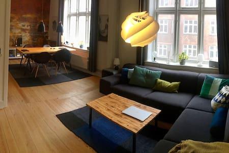 Unikt indrettet 3værelses lejlighed - 오르후스(Århus) - 아파트