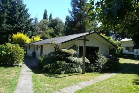 Cabaña Orilla Lago Puyehue 3. Villa Gretchen