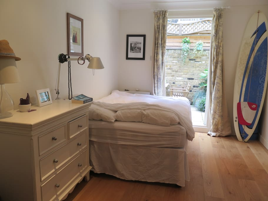 Bedroom one (double bed)
