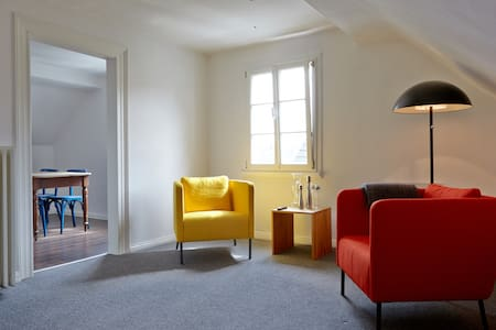 Gemütliche Dachgeschosswohnung in Fachwerkhaus - Solingen - Lägenhet