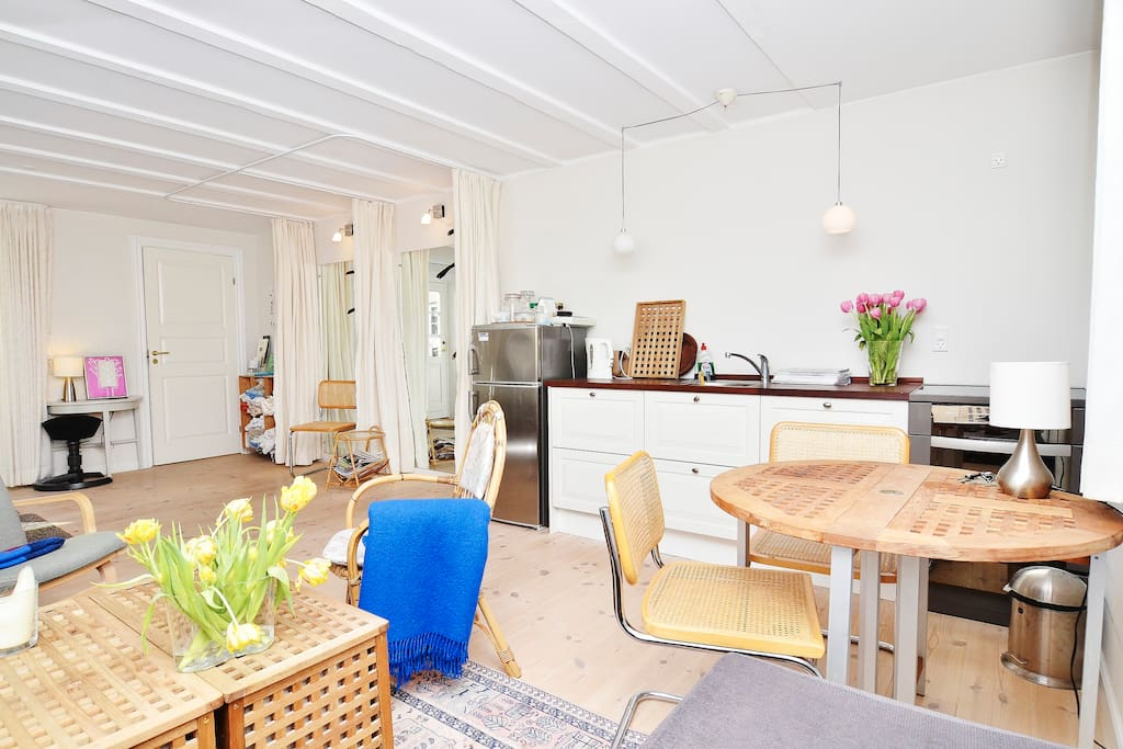 As central as can be in Odense - Bed and breakfasts for Rent in Odense, Syddanmark, Denmark