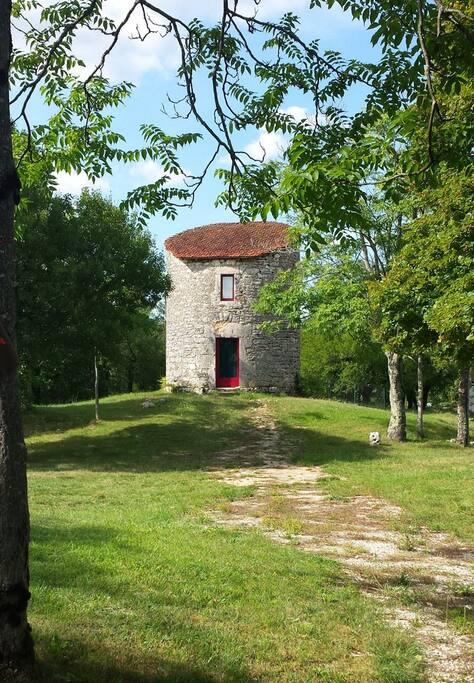 Le moulin de la propriété