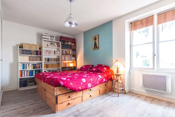 chambre spacieuse indépendante - Batz-sur-Mer - Apartamento