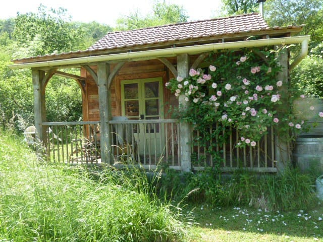 Oak cabin,quiet,relaxing,timeless.. - Les Junies - Houten huisje