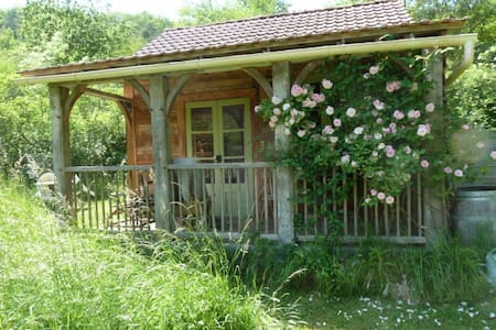 Oak cabin,quiet,relaxing,timeless.. - Les Junies - กระท่อม