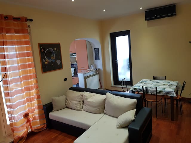 Ostia Lido Top Floor Apartment with Terrace