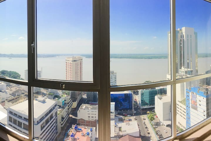 23rd Floor River View   Downtown Guayaquil - Guayaquil - Apartamento