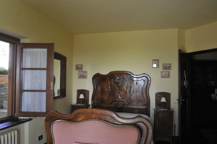 Stanza della Rosa uso tripla - Pralungo - Wohnung