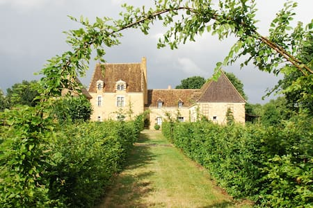 Manoir, 4 chambres - Saint-Célerin