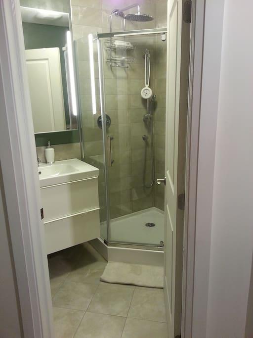 Right next to your bedroom is the a three piece bathroom (shared bathroom). Toiletries are included.