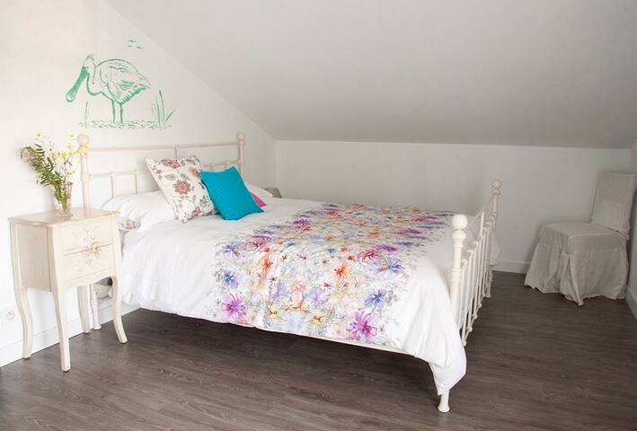 Romantic room in cottage Barcarola