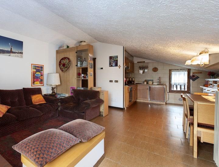 Accogliente appartamento Caspoggio