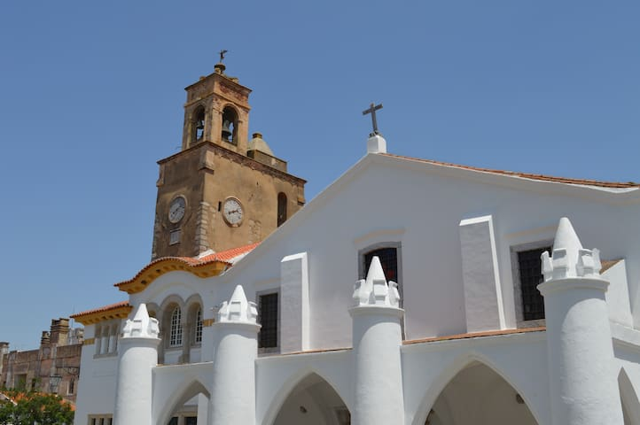 Holy Mary's Church (Igreja de Santa Maria) one of Beja's many churches - this one was initially a mosque.