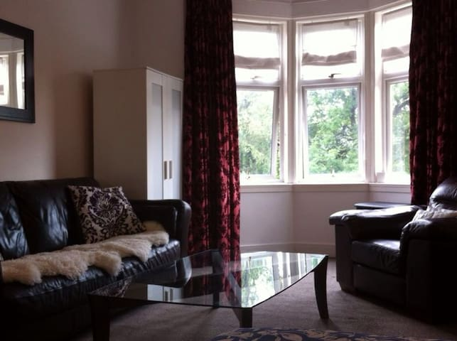 Spacious double room glasgow - Glasgow - Apartment