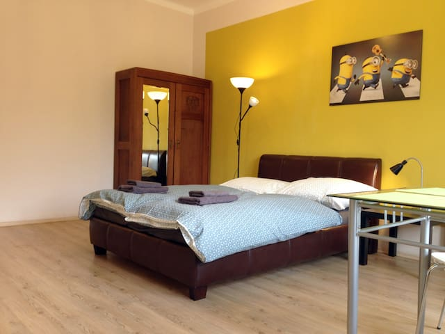 Spacious apartment in 5 minutes from the metro
