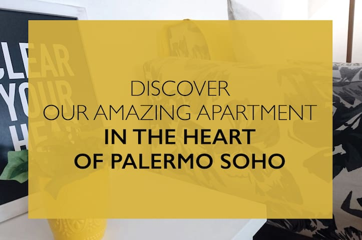 Stylish Apartment in the heart of #Palermo Soho!!