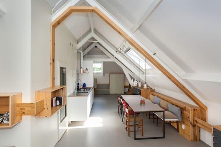 hystorical design loft in Rotterdam - Róterdam - Loft