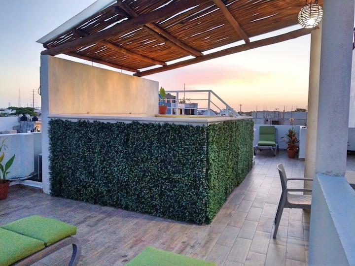 PN11 - Relax STUDIO + Rooftop POOL + Fast WIFI!!
