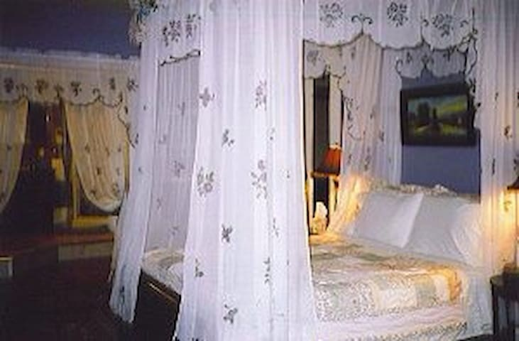 5 Star host Enchanted Jacuzzi Suite - Janesville - Bed & Breakfast