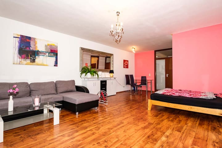 BN08 Beautiful, apartment with kitchen, terrace & WLAN