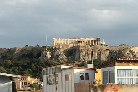 Your studio with Acropolis view