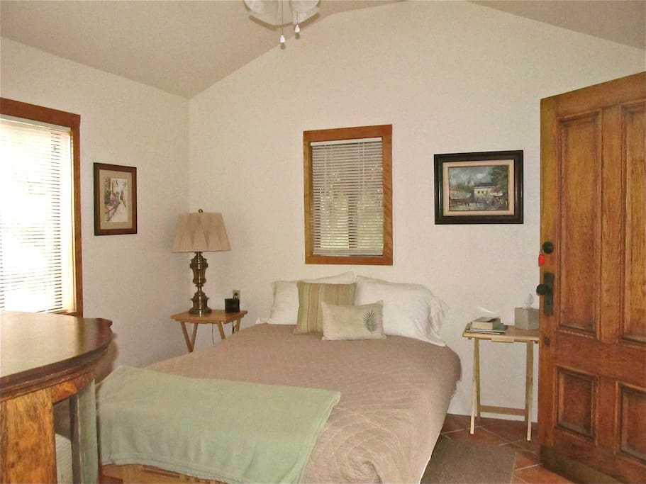 Beautifully appointed comfortable quiet accommodations.