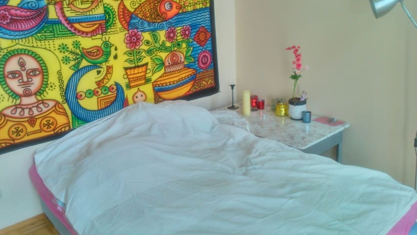 Cosy bedroom with balcony incl. WIFI, bath,kitchen - Graz - Appartement