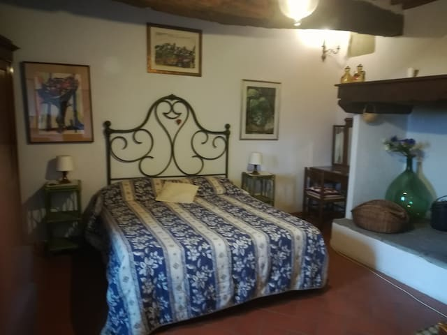 Lamole, Camino apt.in villa Ridaldi