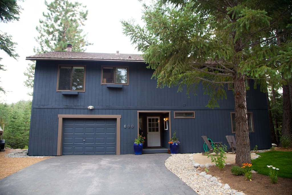 You'll have the downstairs unit of our home, which is located walking distance to Tahoe City.
