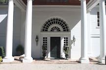Classic portico entrance