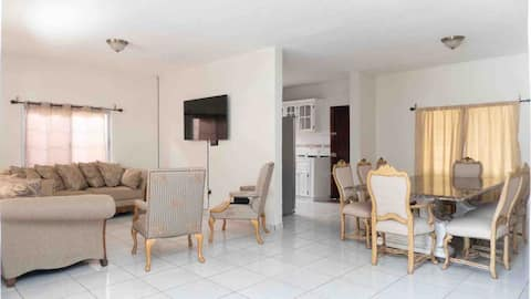 3 bedrooms , 2 bathrooms, kitchen, gated community