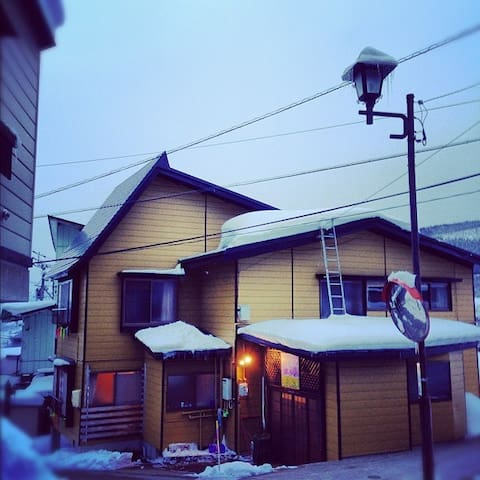 SORA NOZAWA lodge in Nozawa Onsen - Nozawaonsen - Bed & Breakfast