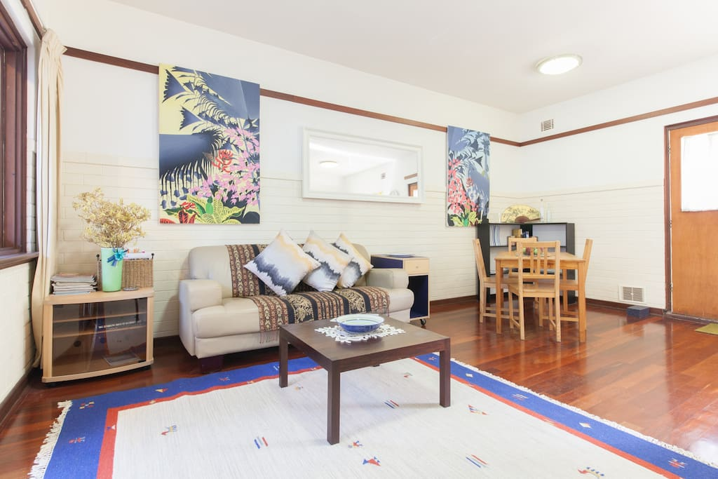 Large spacious living areas