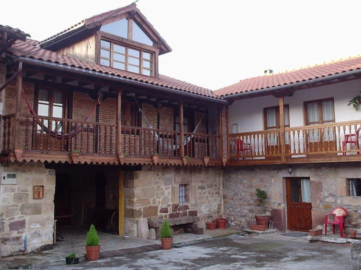 El Espesedo casa rural, habitación y cocina