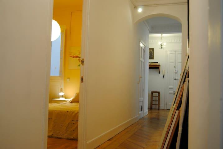 Spacious room with oun toilet - มาดริด - ที่พักพร้อมอาหารเช้า