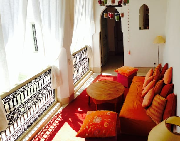 "Riad Ibo ""IFE room""+breakfast+wifi - Marrakech - Pousada"