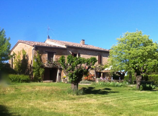 UZES 5KM. 6 bedrooms 12 sleeps-pool - Serviers-et-Labaume - House