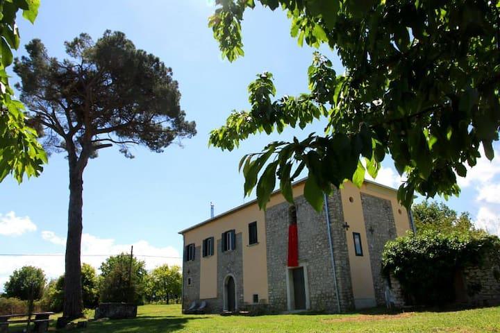 Splendido casale antico con chiesa in Irpinia - Provincia di Avellino - Penzion (B&B)