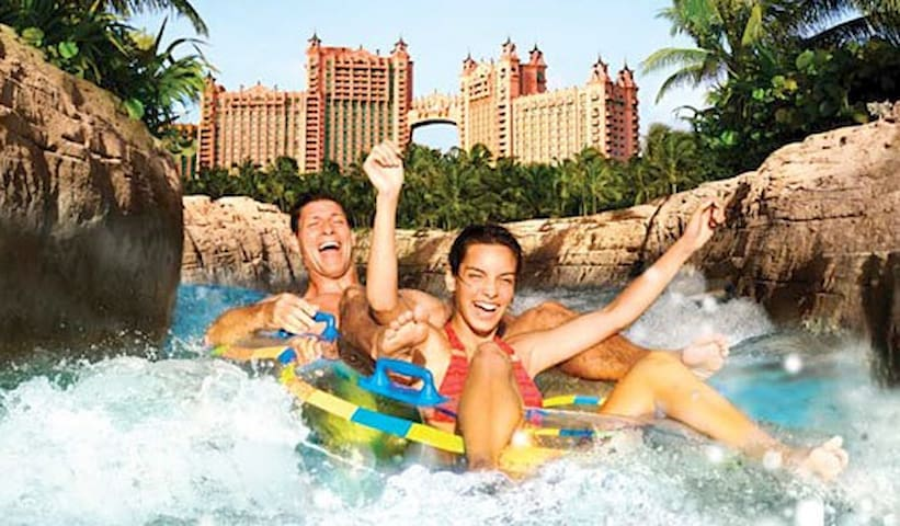 Piece of Paradise awaits  you at Atlantis Bahamas - Nassau
