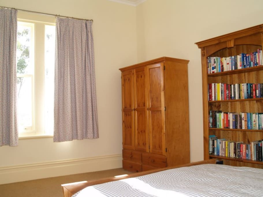 The Bookroom bedroom