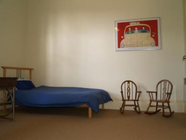 The twin room.  The biggest room, that the kids gravitate to.