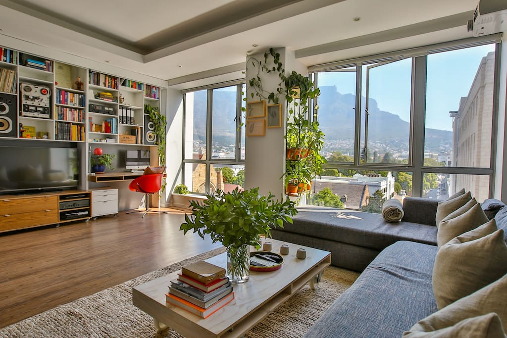 Spectacular views large luxury design apartment for Apartment plans south africa