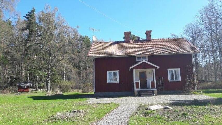 Mysigt hus på landet - Stallarholmen