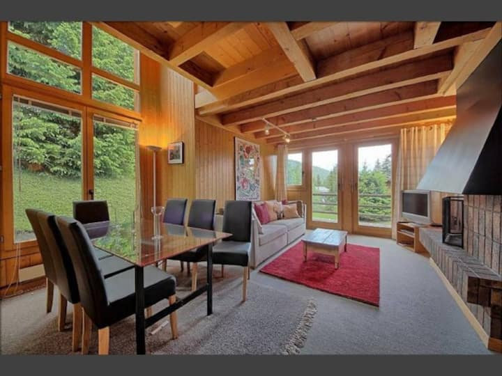 Refurbished penthouse apartment in Verbier