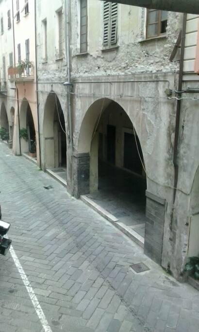 I portici del 1400