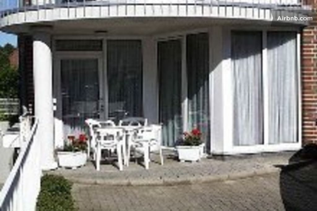 "Corner apartment at the  ""Nordsee"""